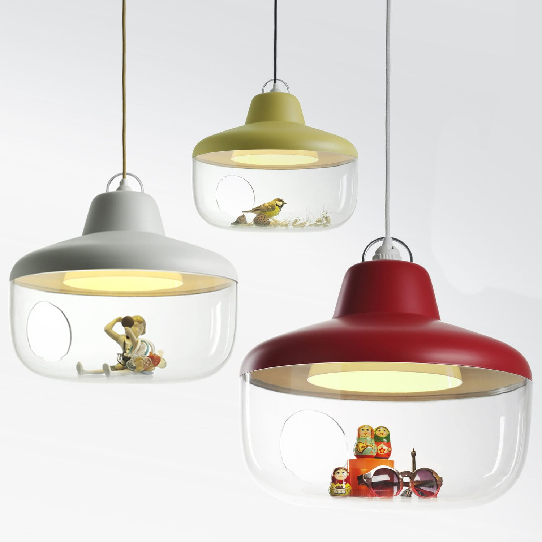 Diferentes modelos de la lámpara Raspberry