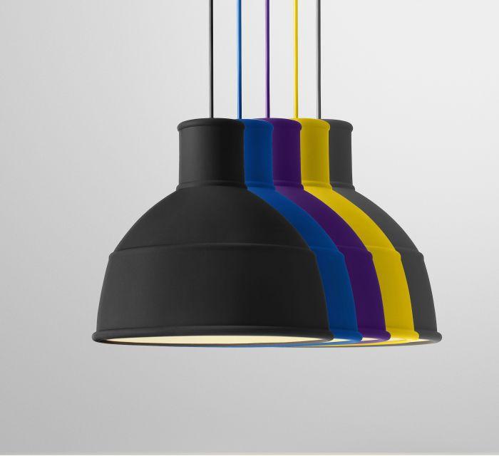 Todos los modelos de la lámpara de techo Unfold