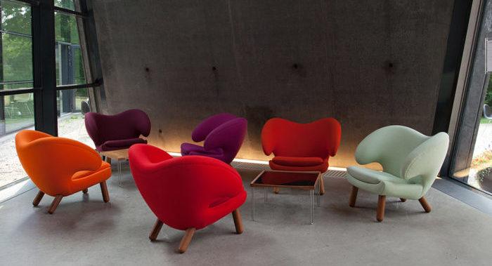 pelican chair en varios colores