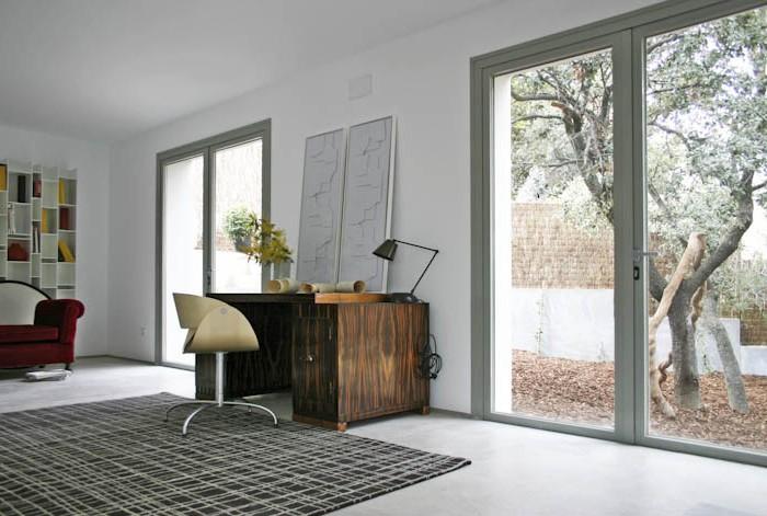 Proyecto Casa del Pico con escritorio danés