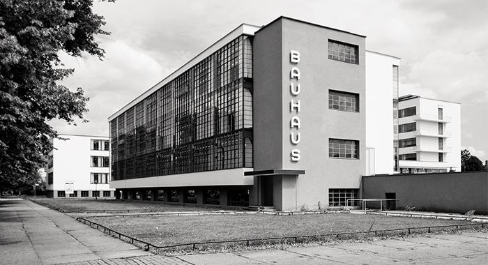 Edificion de la Escuela Bauhaus de Dessau