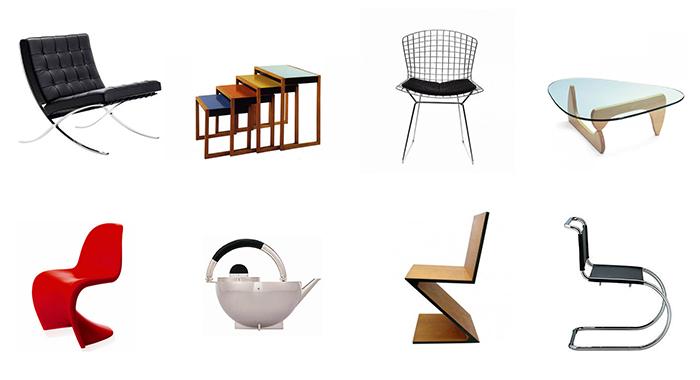 muebles de la escuela bauhaus