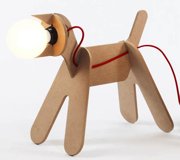 lampara perro