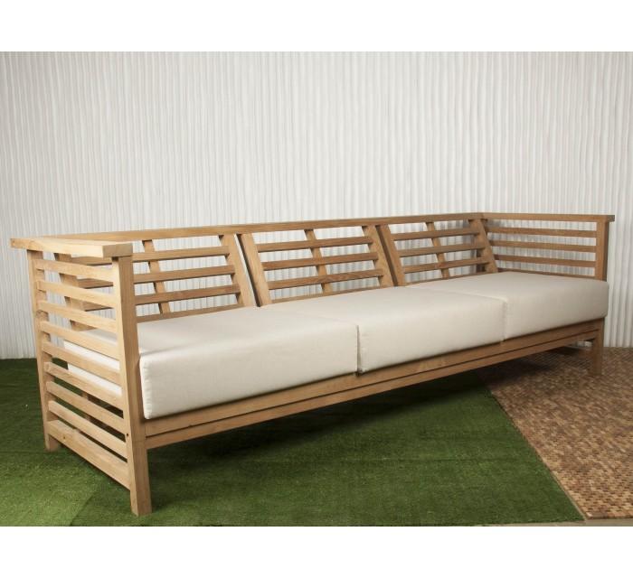 Muebles de teca para exterior especial verano blog de for Sofa exterior plegable