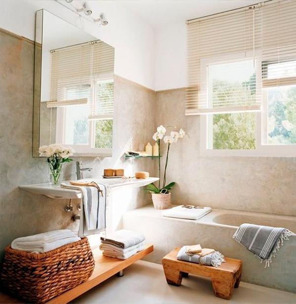 baño decorado feng shui