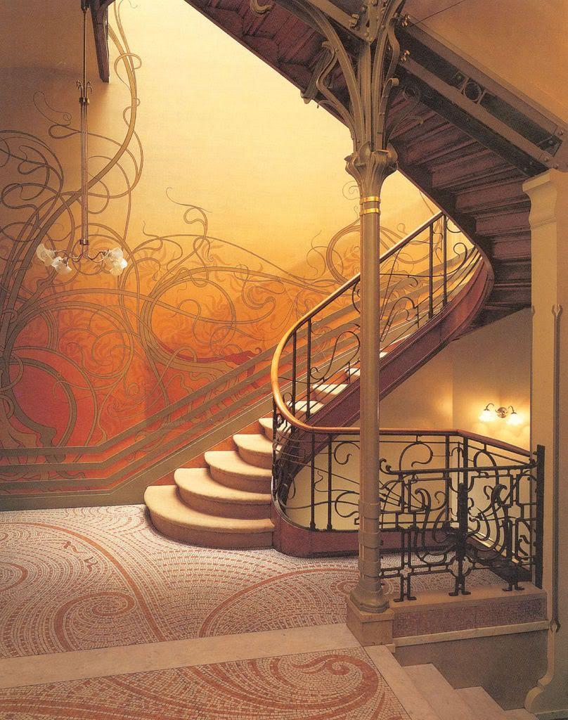 arquitectura y decoracion estilo art nouveau