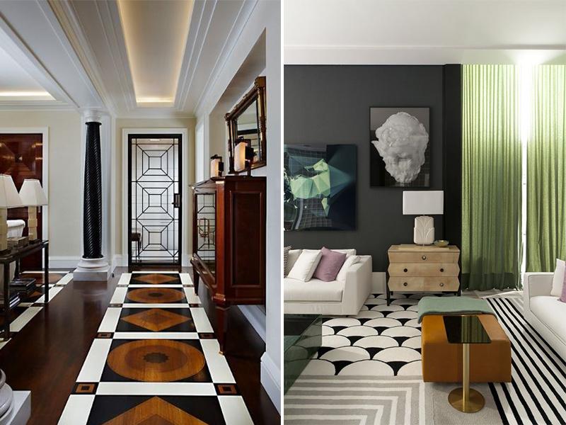 Detalles de decoración estilo Art Decó