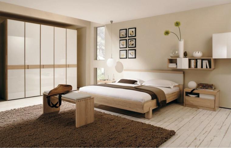 dormitorio decorado según en el feng shui