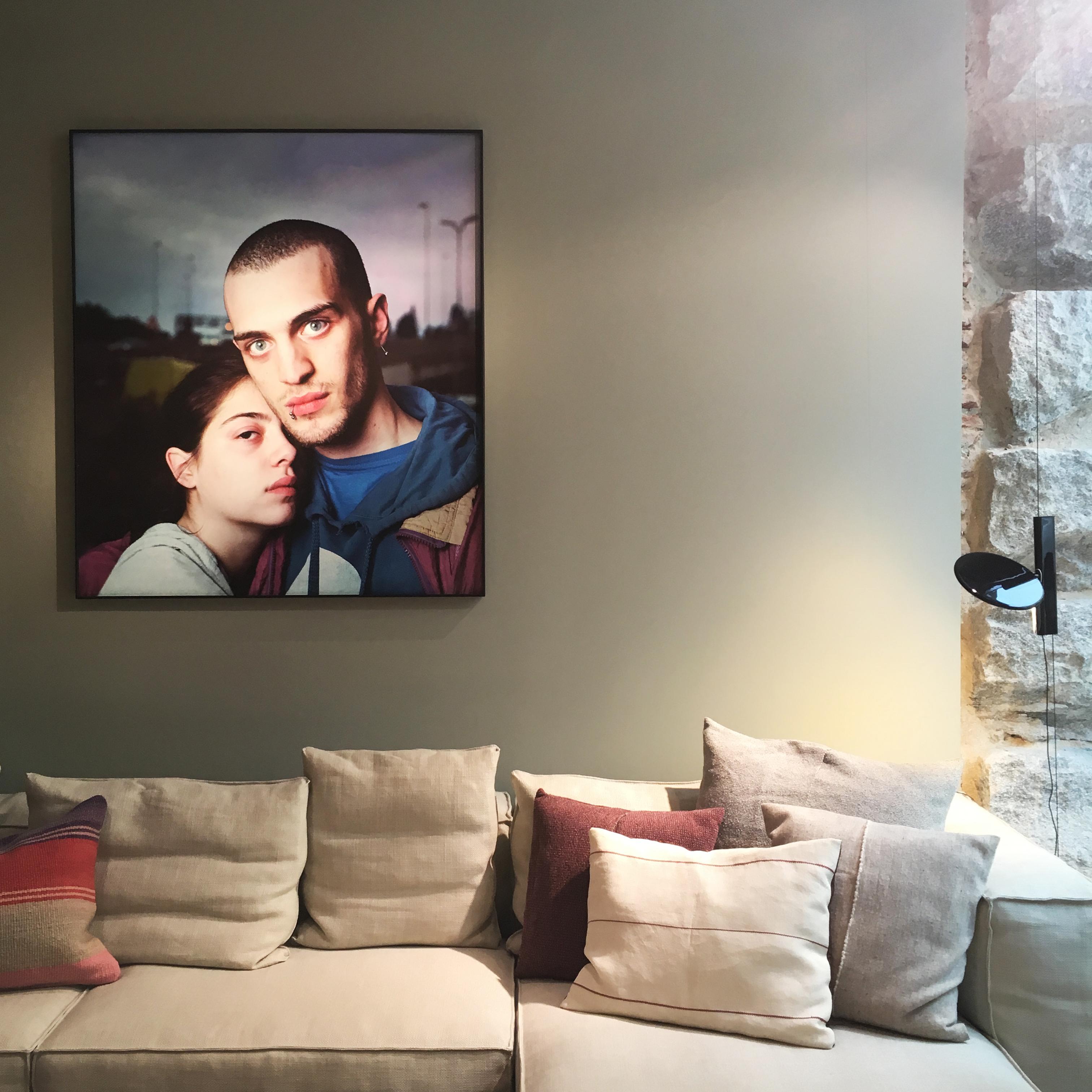 fotografía de jesus madrinan en la expo de batavia