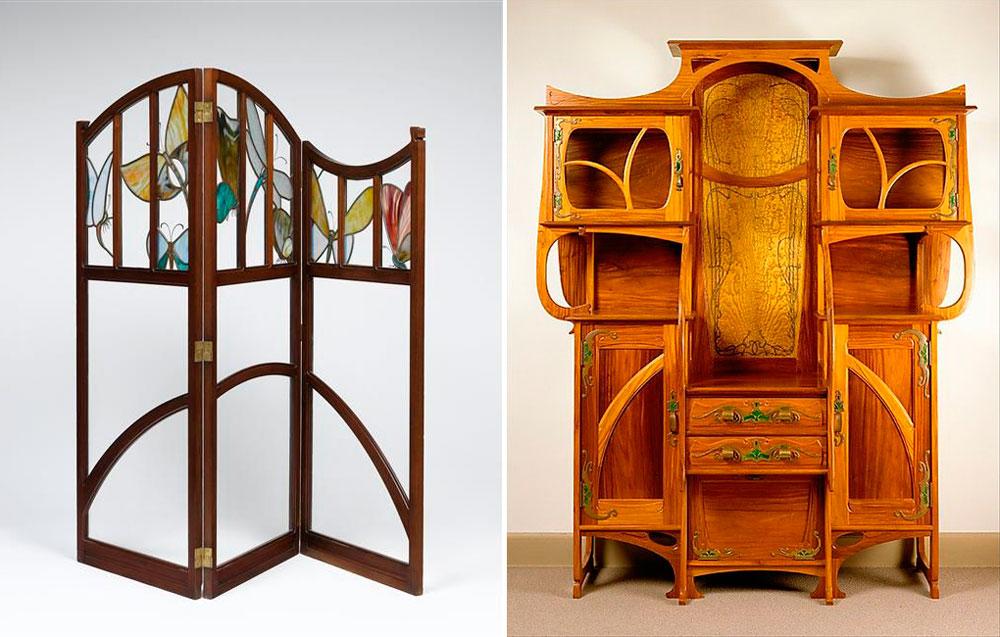 muebles estilo art nouveau