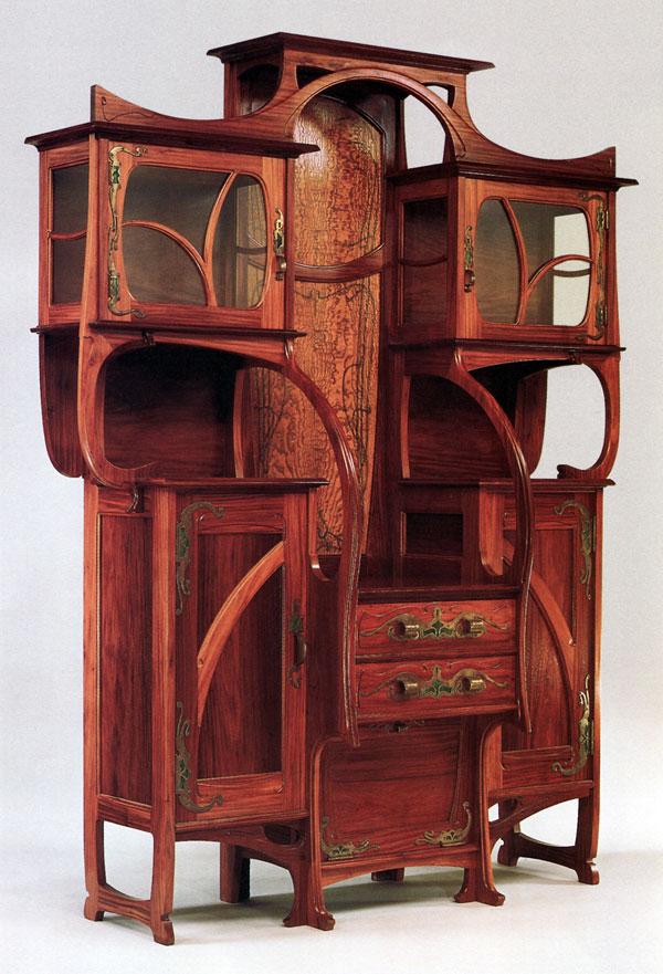 armario estilo art nouveau