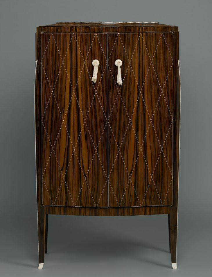 Jacques-Emile Rhulmann cabinet estilo art deco