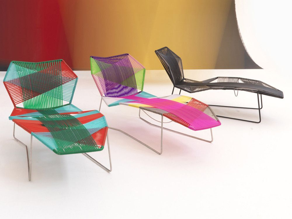 chaiselounge Tropicalia diseñada por Patricia Urquiola para moroso
