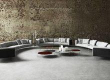 Sofás curvos, la nueva tendencia en decoración