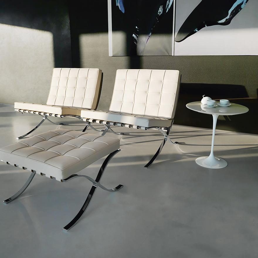 silla barcelona diseñada por mies van de rohe