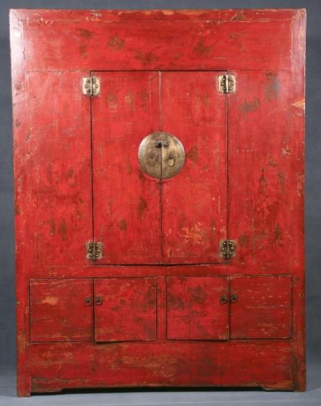 antiguo armario chino