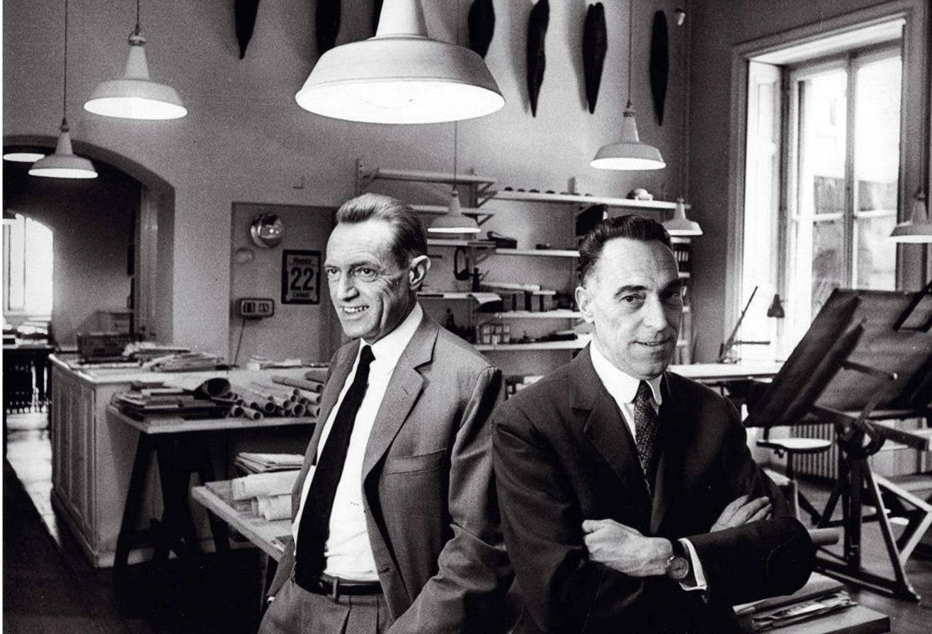 imagen de los hermanos castiglioni